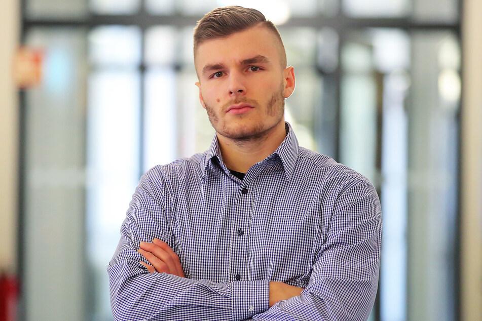 Max Herzberg (23) steht im Konflikt mit YouTube. (Archivbild)