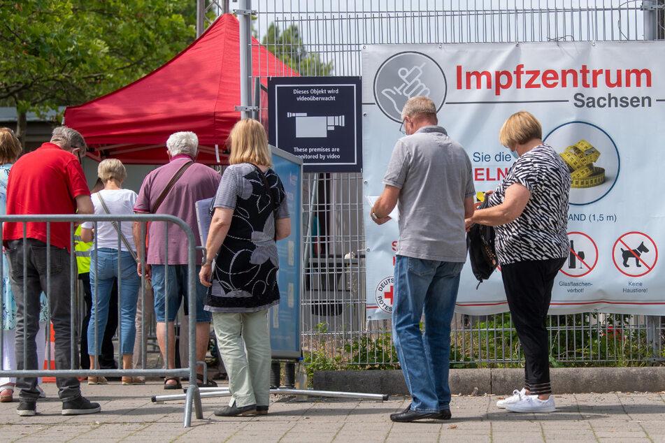 Bis Ende September schließen in Sachsen die 13 Impfzentren.