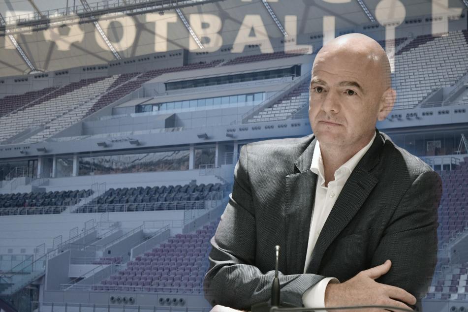 Klartext zur Super-League: Jetzt spricht FIFA-Boss Infantino! Katar-WM auch ohne Fans denkbar?