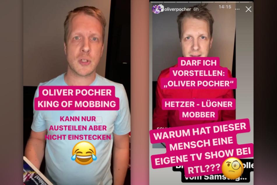 Michael Wendler (48) bezeichnet Oliver Pocher (42) als Hetzer, Lügner und Mobber. (Fotomontage)