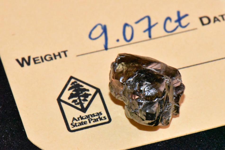 Der Diamant ist der Zweitgrößte, der bislang im Park gefunden wurde.