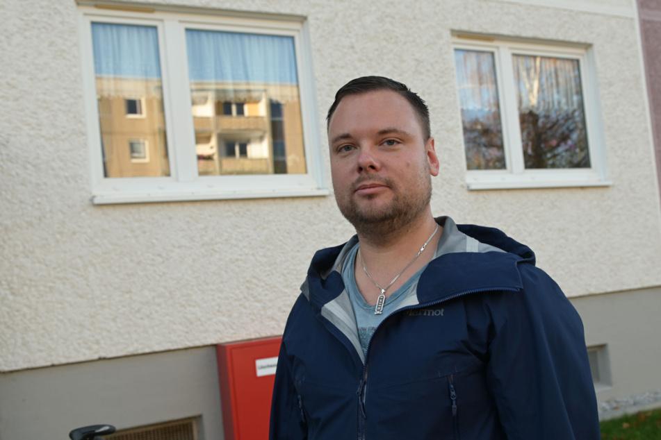 Platte lohnt sich, findet Peter Großöhme (34).
