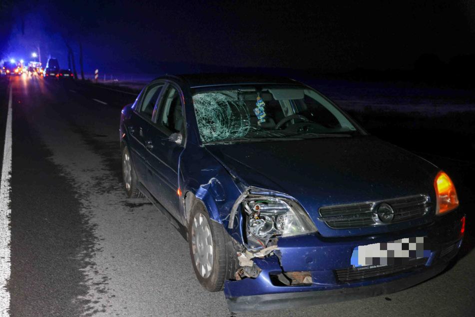 An dem Opel blieben deutlich sichtbare Schäden zurück.