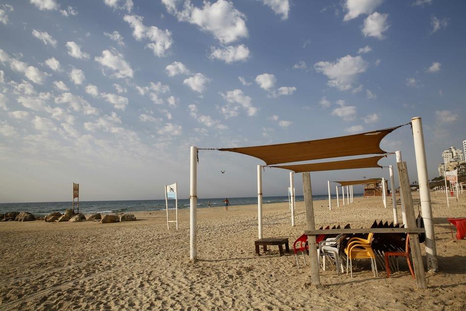 Nach dem Lockdown in Israel werden nun auch Strände wieder eröffnet.
