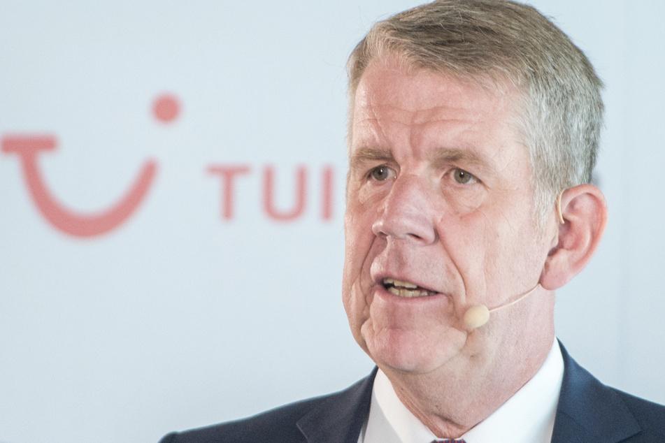 TUI Vorstandschef Fritz Joussen (57). (Archivbild)