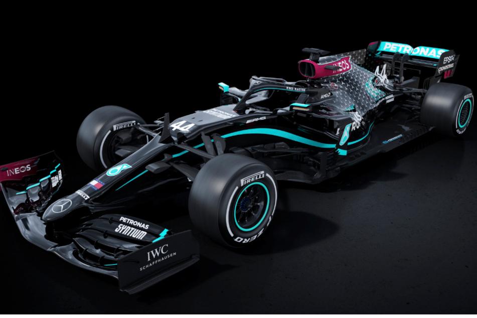 Statement gegen Rassismus! Mercedes tritt in Formel 1 mit schwarzer Lackierung an