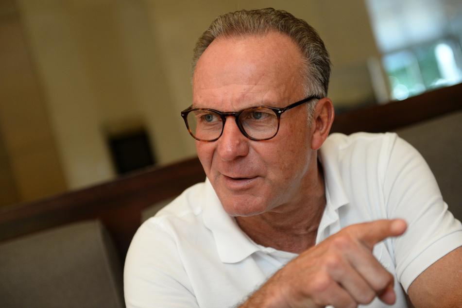Karl-Heinz Rummenigge vom FC Bayern München macht sich Sorgen.
