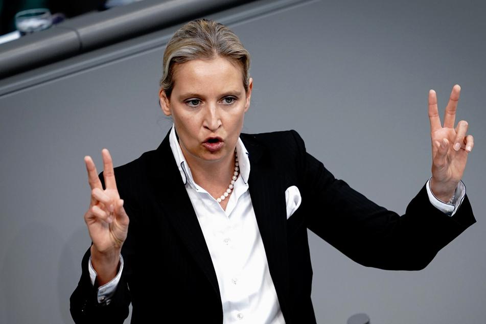 Alice Weidel (42), Fraktionsvorsitzende der AfD.