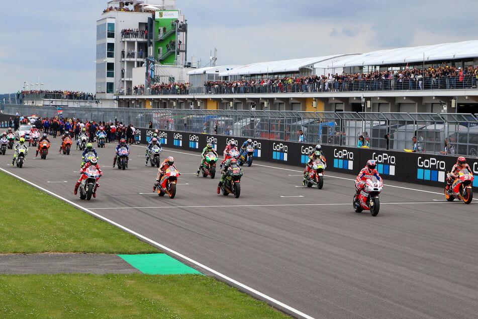 Der Moto GP auf dem Sachsenring ist ein Traum - auch für junge Renntalente aus der Region.