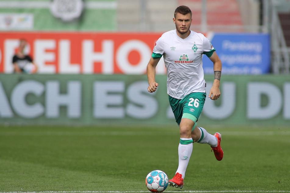 """Lars Lukas Mai wurde im Sommer """"U21""""-Europameister und wechselte dann von Darmstadt nach Bremen. Es ist sein zweiter Auftritt in Dresden."""