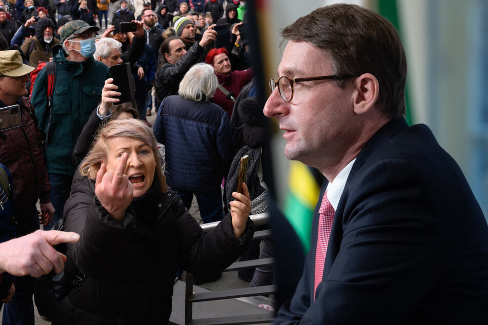 "Verbotene Querdenker-Demo, Funk-Panne, Chaos, Gewalt: Aber Innenminister ist ""dankbar"""