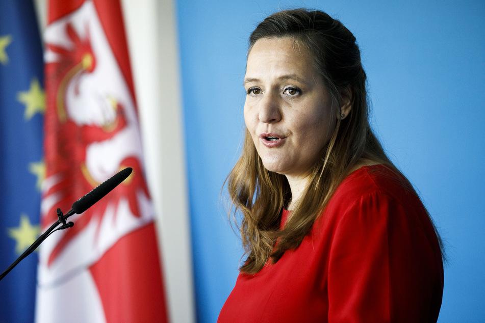 Manja Schüle (SPD), Ministerin für Wissenschaft, Forschung und Kultur des Landes Brandenburg.