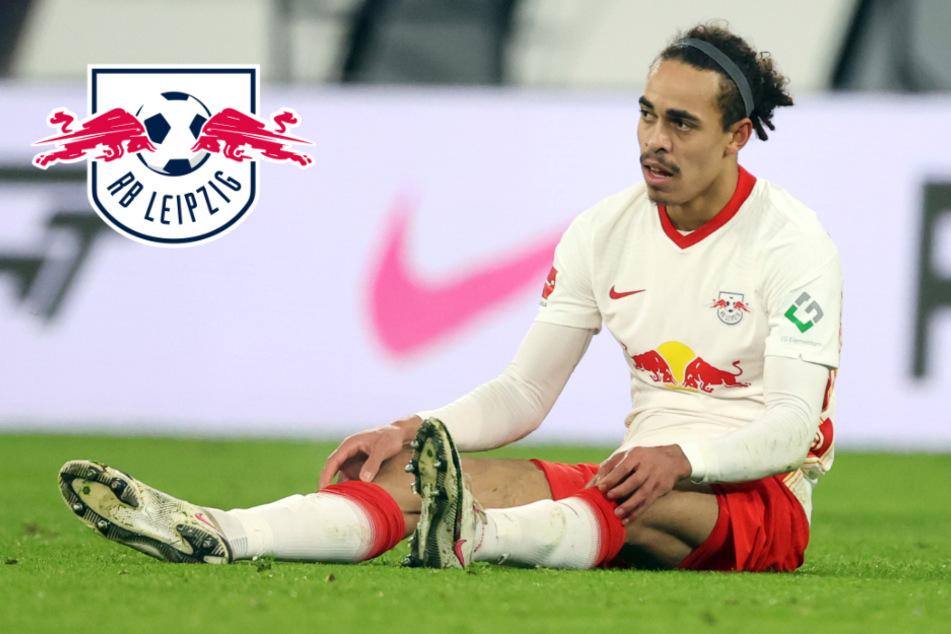 Nach 15 Minuten gegen Bayern ausgewechselt: So geht es RB Leipzigs Poulsen