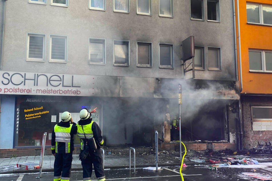 Explosion in Nürnberger Supermarkt
