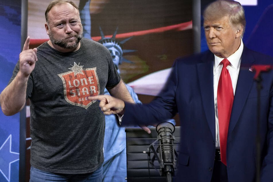 """I'm so f***ing sick of him"": notorious conspiracy theorist Alex Jones slams Donald Trump"