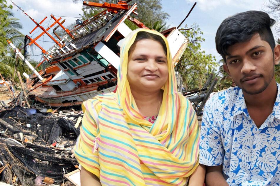 Frau findet 16 Jahre nach Tsunami Sohn wieder, aber ist sie wirklich die Mutter?