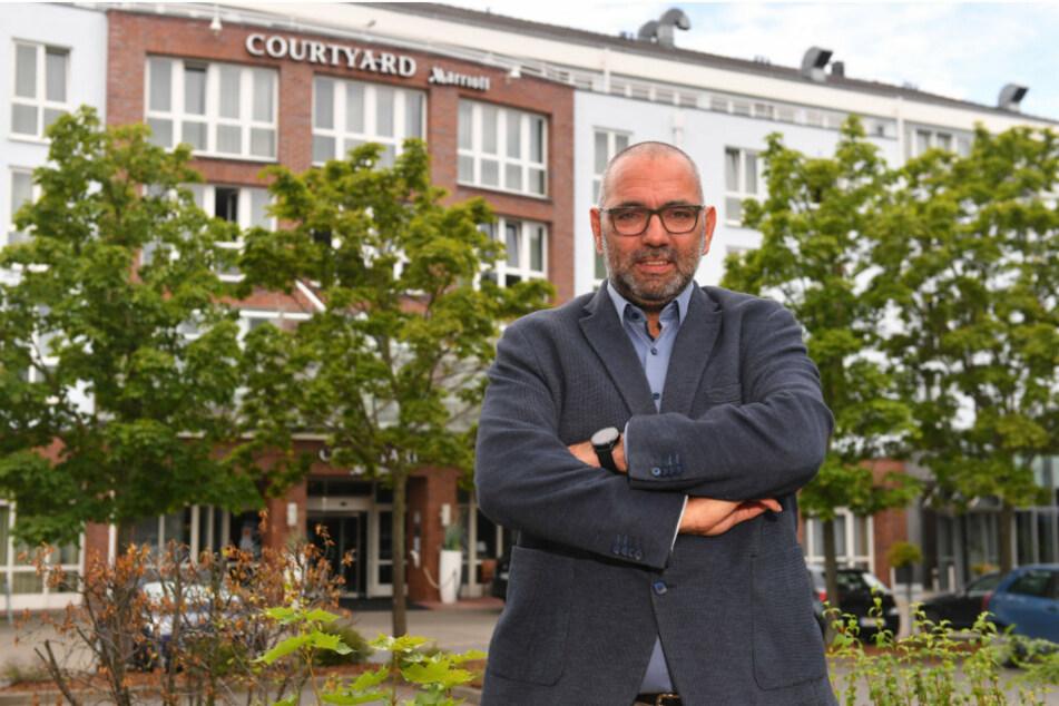 Johannes Lohmeyer ist Chef des Tourismusverbands und Hoteldirektor des Courtyard Hotels.