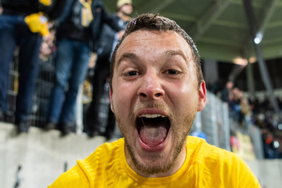 Dynamos Justin Löwe (21) durfte gegen RB wieder ran - und lieferte ab.