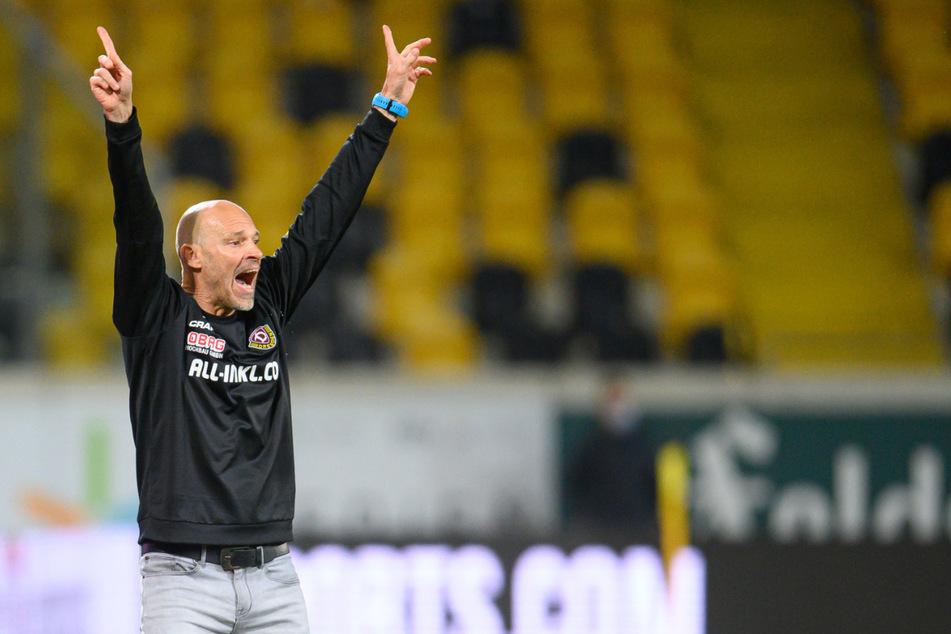 Neu-Trainer Alexander Schmidt hat den Dynamos tatsächlich auch neues Leben eingehaucht und gibt die Richtung klar vor - ab nach oben in die 2. Liga!