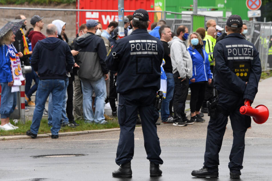 Einsatzbelastung der Polizei bei Fußballspielen nimmt ab