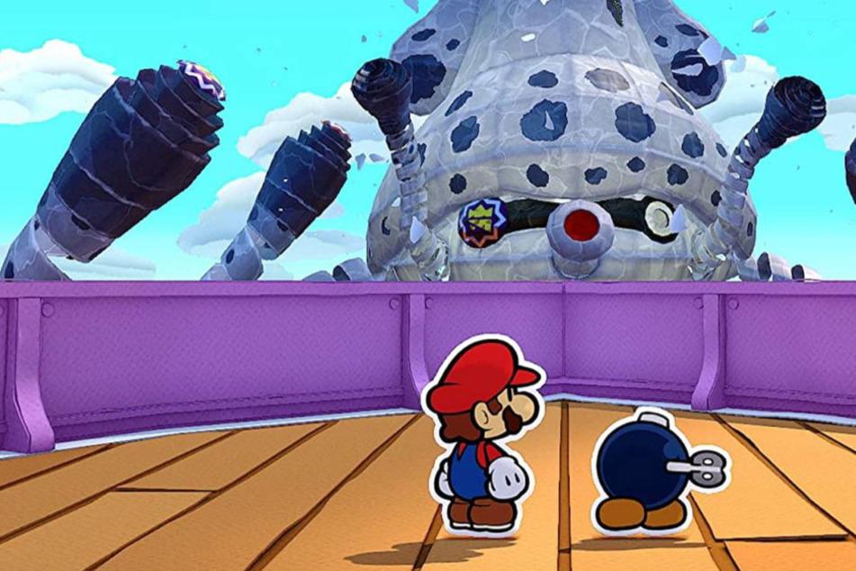 """""""Paper Mario: The Origami King"""" im Test: Dieser Klempner macht maximal süchtig!"""
