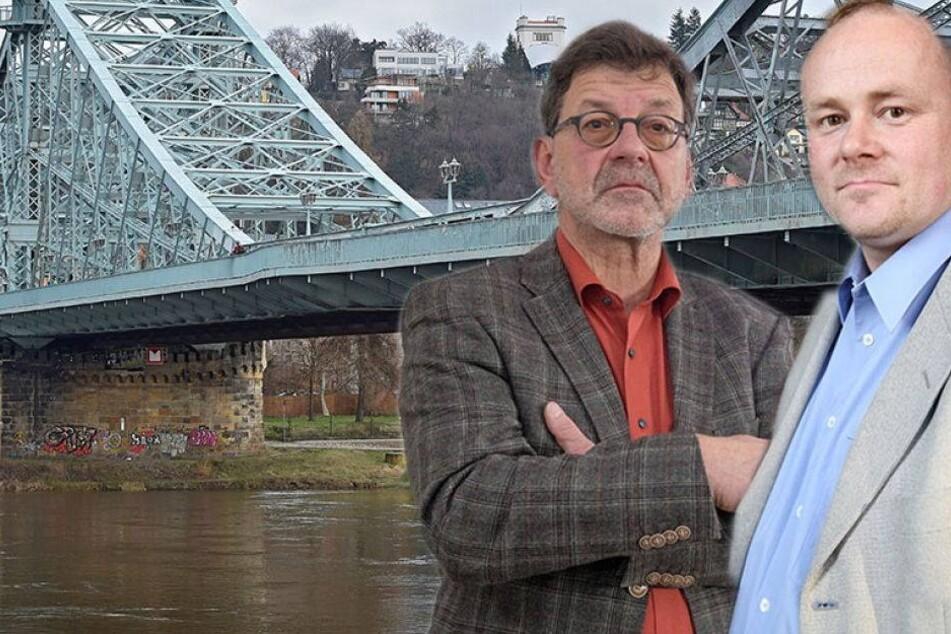 Ärger im Stadtrat! Wackelt die Sanierung des Blauen Wunders?
