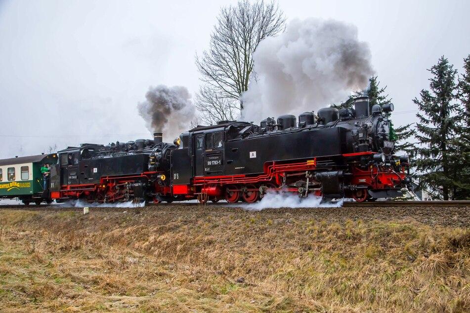 Fichtelbergbahn stellt Fahrbetrieb bis Ende Mai ein