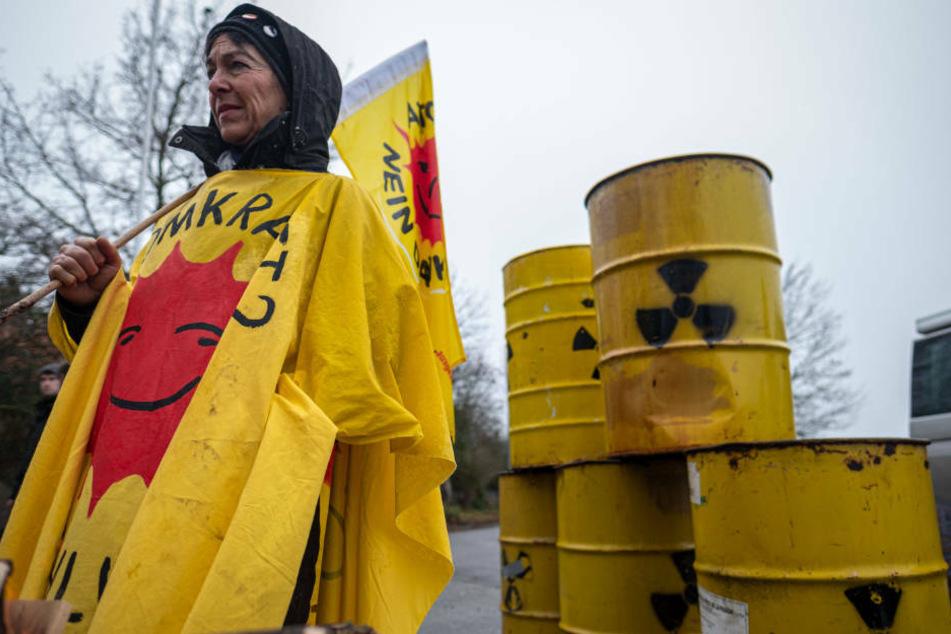 """Atommüll auf dem Weg nach Deutschland: """"Castor-Alarm"""" ausgelöst"""