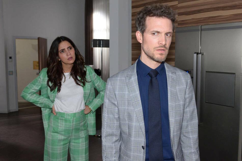 Im Townhouse kommt es zum Showdown zwischen Laura und Felix.
