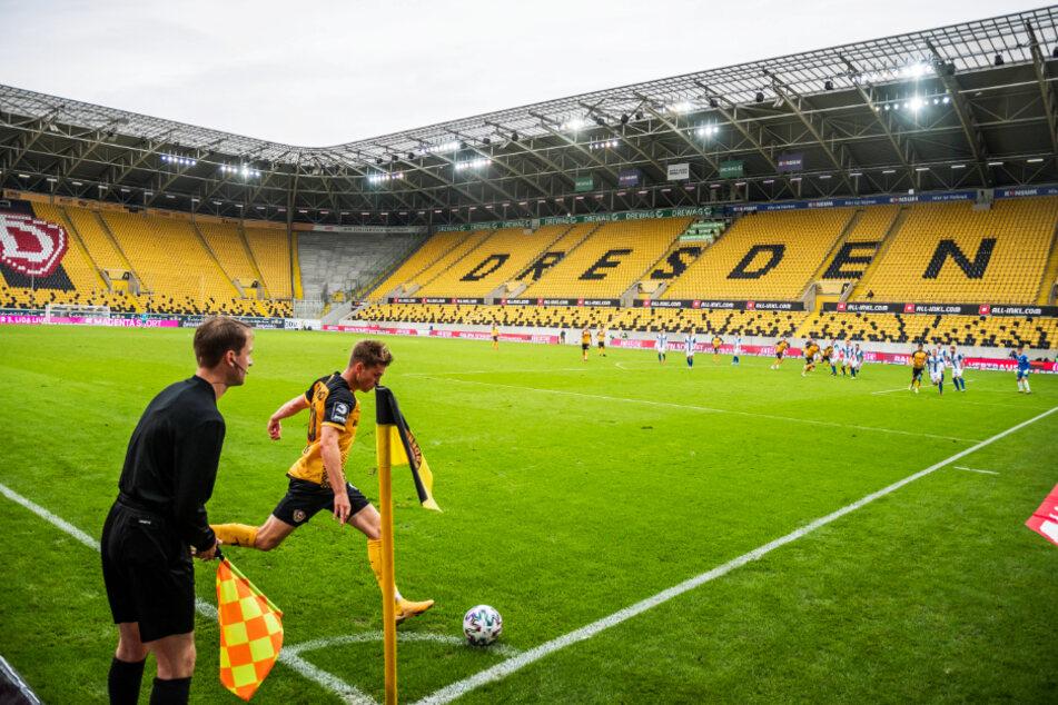 Patrick Weihrauchs (26) Standards sind Waffen für Dynamo. Mit Ecken und Freistößen bereitete er direkt und indirekt schon sechs Treffer vor. In Duisburg trug er sich dann erstmals auch in die Torschützenliste ein.