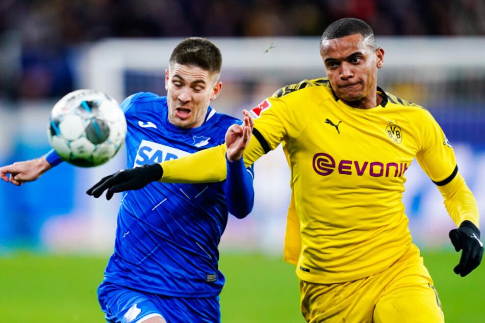 Manuel Akanji (r.) soll Borussia Dortmund bei einem guten Angebot verlassen dürfen.