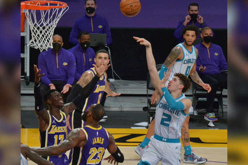 The Charlotte Hornets' LaMelo Ball has been named NBA Rookie of the Year
