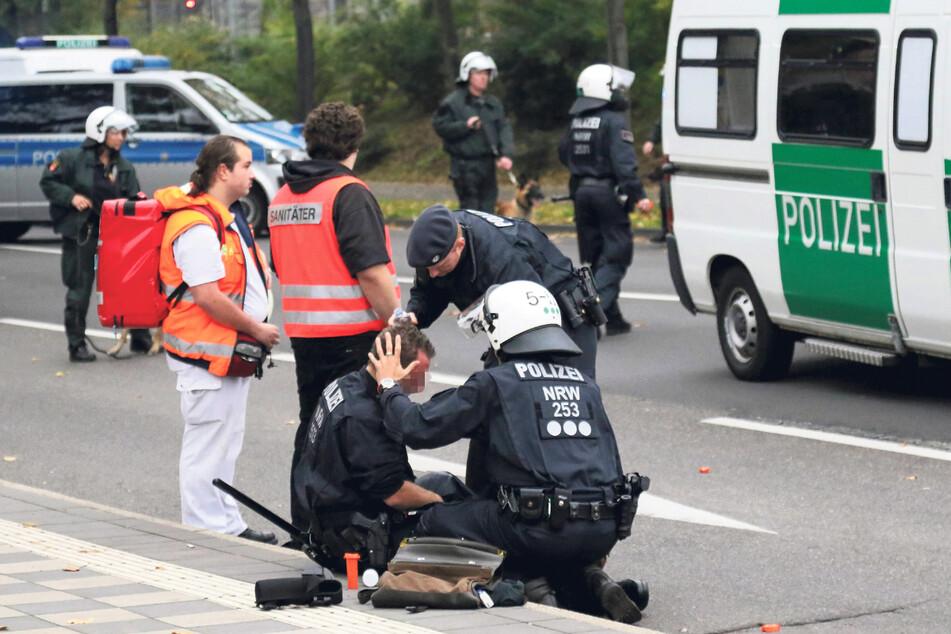 Die Zahl der Übergriffe auf Polizisten ist um fast 21 Prozent gestiegen.