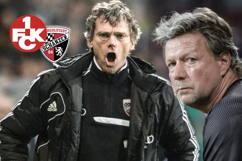 Arschtritt-Skandal in 3. Liga: Ingolstadt-Sportdirektor Henke gibt Lautern-Coach eine mit!