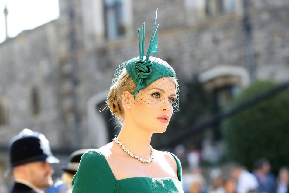 Lady Kitty (30) bei der Hochzeit von Meghan Markle und Prinz Harry. Nun kam die 30-Jährige selbst unter die Haube. (Archivbild)