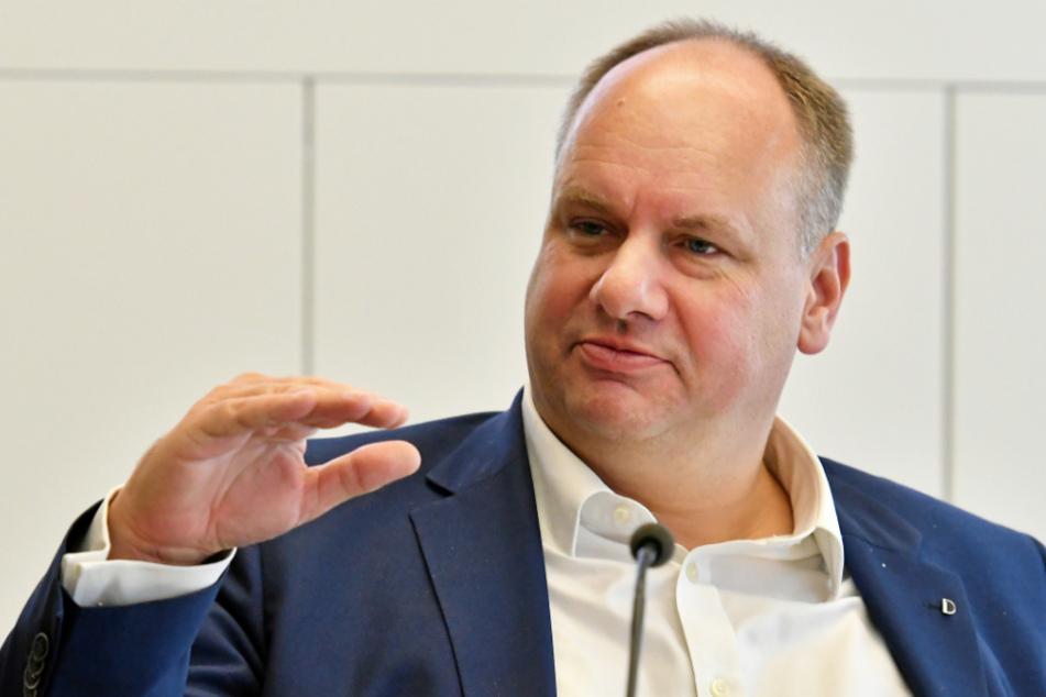 Dresdens Oberbürgermeister Dirk Hilbert (48, FDP).