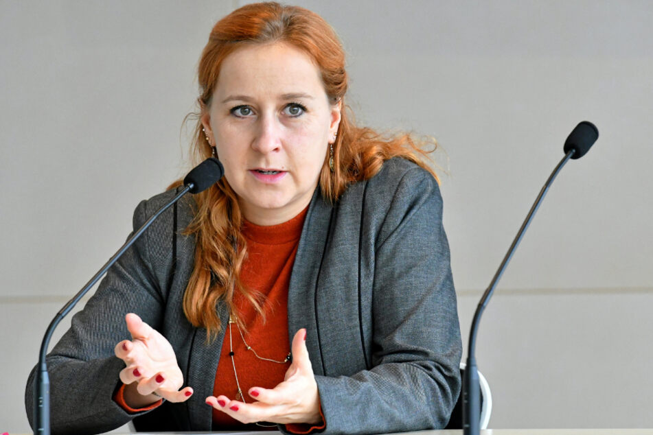 Franziska Schubert (38, Grüne).