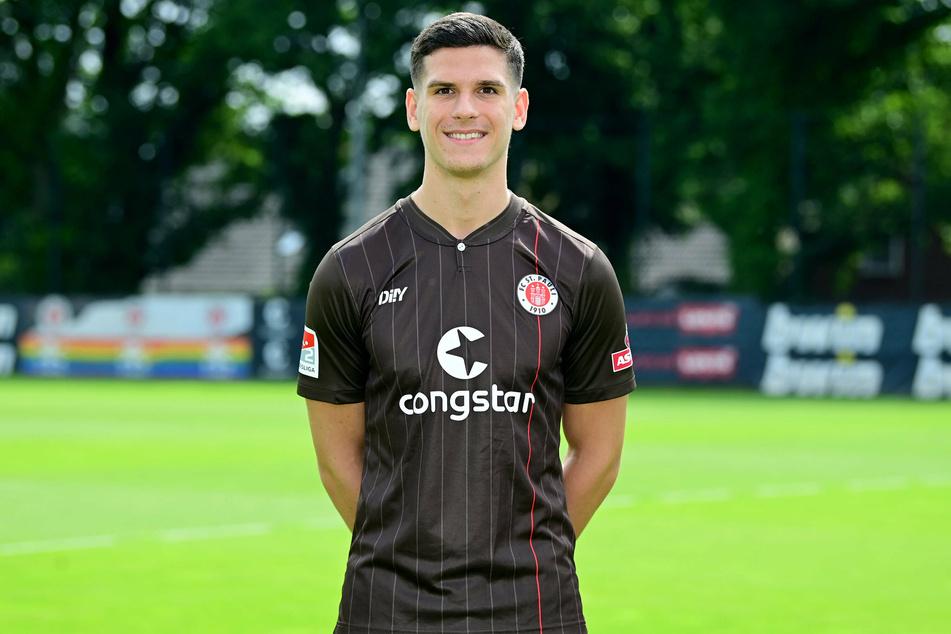 Igor Matanovic (18) freut sich über die Perspektive, in der Bundesliga bei Eintracht Frankfurt seine Chance zu bekommen.