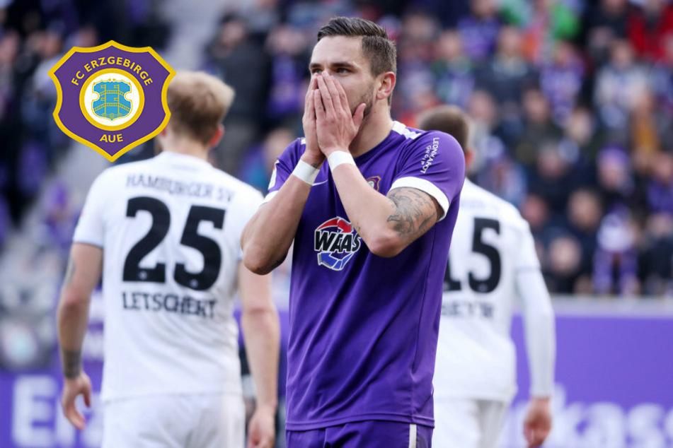 Aue-Stürmer Testroet: Voller Derby-Einsatz trotz Verletzung und acht Wochen Pause