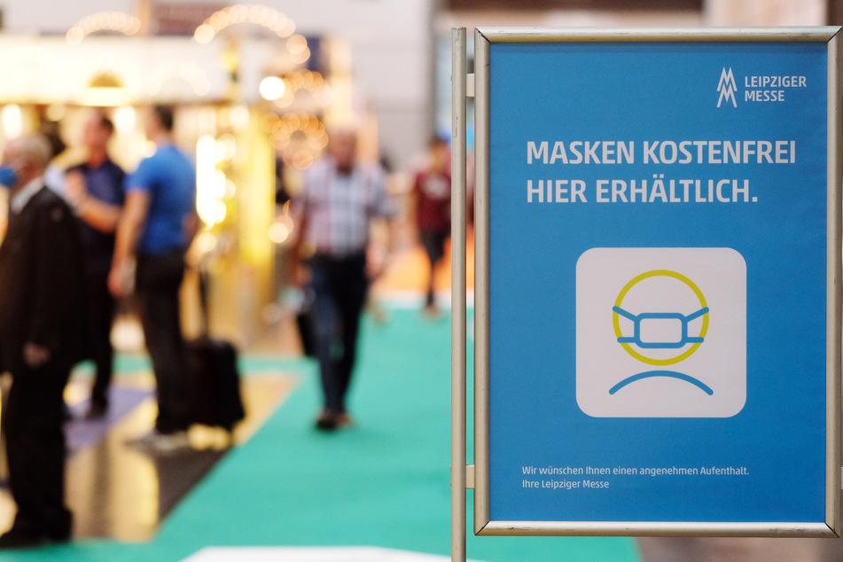 Zwar läuft alles noch ausschließlich mit Hygienekonzept ab, dennoch gibt es endlich wieder Präsenzmessen auf der Leipziger Messe.