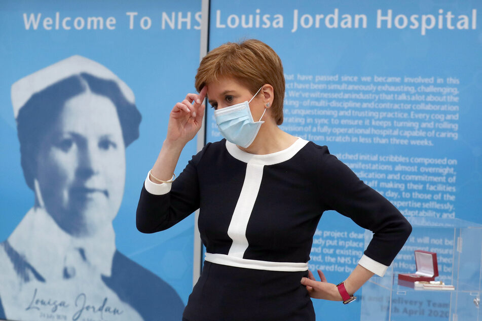 Nicola Sturgeon, Premierministerin von Schottland.