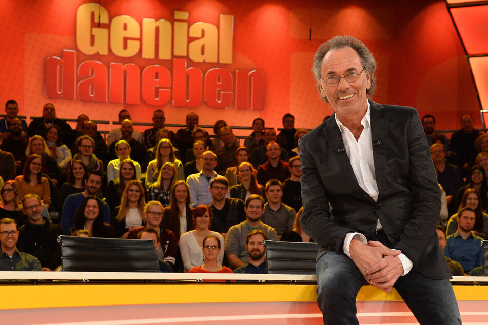 "Hugo Egon Balder (71) moderierte ""Genial daneben"" erstmals im Januar 2003."