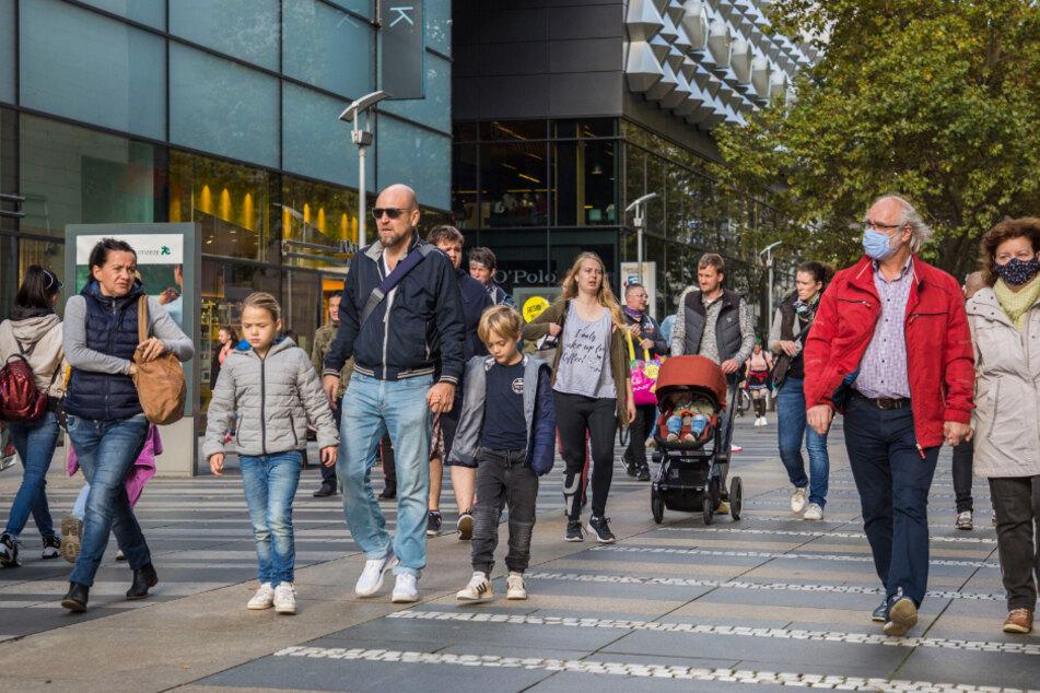 Die Reisefreiheit nutzen viele Tschechen derzeit, um in Dresden einzukaufen.
