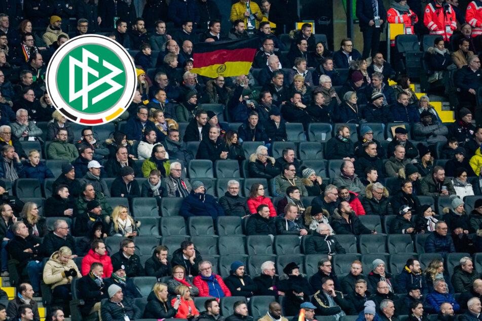 Deutschland-Italien steigt vor leeren Rängen:DFB-Elf bekommt Geisterspiel