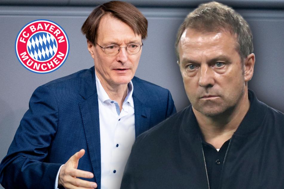 Corona-Streit zwischen Bayern-Trainer Flick und Lauterbach: So lief das Gespräch