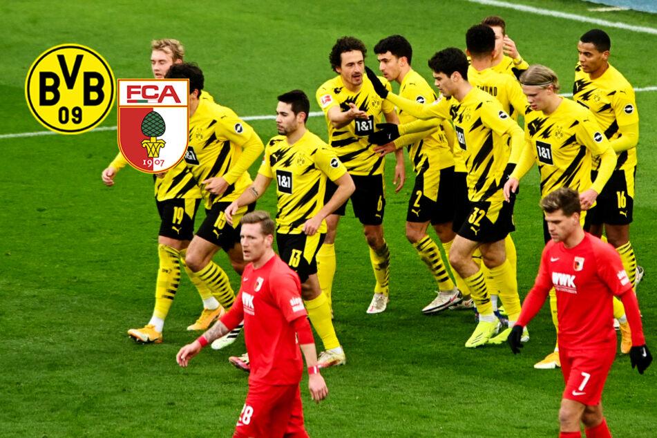 BVB schießt sich gegen Augsburg nach Rückstand aus der Krise!