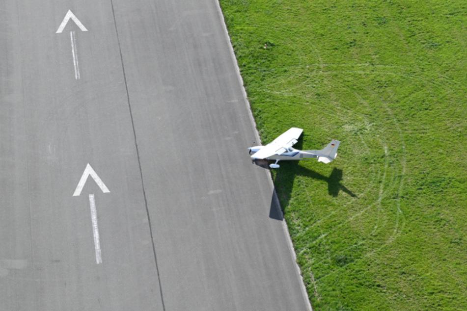 Durch den Flugzeug-Unfall entstand ein Sachschaden von 160.000 Euro.