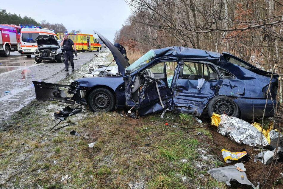 Mehrere Autos kollidieren auf der A2: Auch Kinder unter den Verletzten