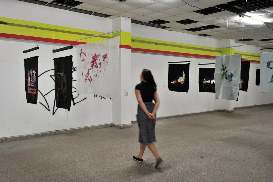 In der ehemaligen Kaufhalle an der Walter-Ranft-Straße sind von Donnerstag bis Sonntag Kunstinstallationen zu sehen.