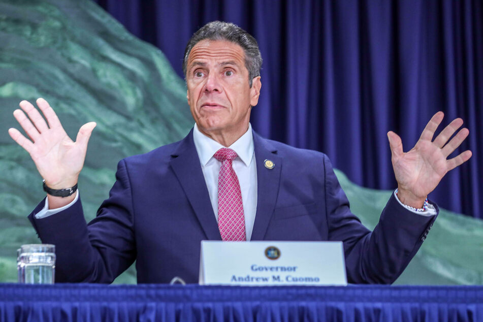 Andrew Cuomo denied inappropriately touching or propositioning anyone.